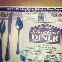 Photo taken at Stratford Diner by Hunter H. on 4/5/2013