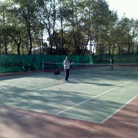 Photo taken at Kentpark Acik Tenis Kortu by Abdullah K. on 4/12/2013