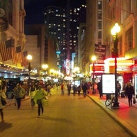 Photo taken at Downtown Crossing by Brandon G. on 12/3/2012