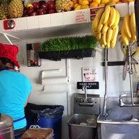 Photo taken at Juicy Lucy's Juice Bar by Jordan on 9/26/2013