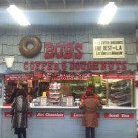 Photo taken at Bob's Coffee & Doughnuts by Joey B. on 12/3/2012