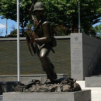 Photo taken at New Jersey World War II Memorial by Jennifer S. on 5/26/2013