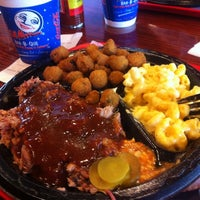 Photo taken at Full Moon BBQ by James C. on 8/14/2013