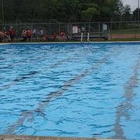 Photo taken at Elm Ridge Park  Town Pool by Khris W. on 8/3/2013