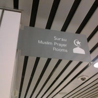 Photo taken at Surau (Muslim Prayer Room) by Sharif M. on 4/15/2013