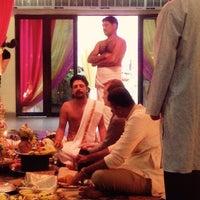 Photo taken at Sri Raja Rajeswary Temple by Alan B. on 2/8/2015