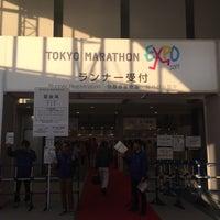 Photo taken at Tokyo Marathon EXPO by Takeshi A. on 2/25/2017