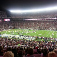 Photo taken at Bryant-Denny Stadium by April T. on 11/10/2013