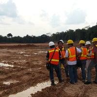 Photo taken at Field office Pt.Adaro Indonesia Paringin by Dwityo T. on 3/4/2014