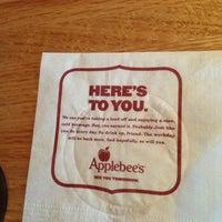 Photo taken at Applebee's by Ashley M. on 6/2/2013