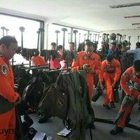 Photo taken at Pangkalan TNI-AU Halim Perdanakusuma by Fahmy D. on 8/17/2014