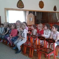 Photo taken at Детский сад №794 by Полина М. on 4/12/2013