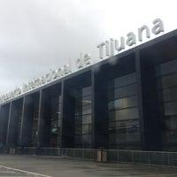 Photo taken at Aeropuerto Internacional de Tijuana (TIJ) by Rene P. on 8/11/2013