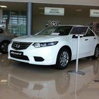 Photo taken at Honda Motors 104'km MKAD by Игорь Б. on 5/24/2013