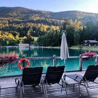 Photo taken at Hotel Schloss Fuschl by Arzu O. on 9/16/2018