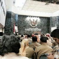 Photo taken at Balai Agung by Anju S. on 3/4/2014
