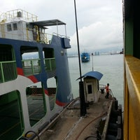 Photo taken at Butterworth Ferry Terminal (Pangkalan Sultan Abdul Halim) by Adli A. on 1/23/2013