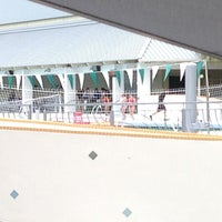 Photo taken at Ransom Everglades Aquatic Complex by Moty's grill on 4/5/2013