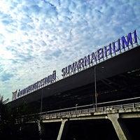 Photo taken at Suvarnabhumi Airport (BKK) by NÜnii P. on 7/27/2013