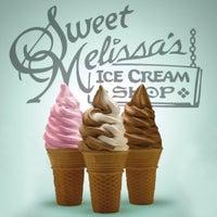 Photo taken at Sweet Melissa's Ice Cream Shop by Sweet Melissa's Ice Cream Shop on 4/9/2014