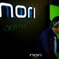 Photo taken at Nori Sushi Bar by Dima T. on 4/20/2013