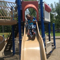 Photo taken at Delaware Park Playground by Chanell R. on 6/23/2013