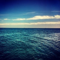 Снимок сделан в Пляж «Ланжерон» пользователем Alena K. 8/2/2013