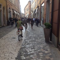 Photo taken at Piazza Andrea Costa by Mila C. on 5/1/2014