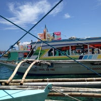 Photo taken at Caticlan Jetty Port & Passenger Terminal by John G. on 5/22/2013
