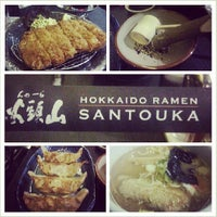 Photo taken at Hokkaido Ramen Santouka by Leo Francis J. on 6/30/2013