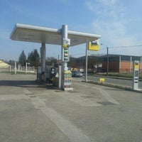 Photo taken at Distributore Agip by Alessia R. on 5/29/2013