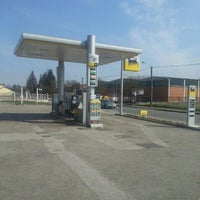 Photo taken at Distributore Agip by Alessia R. on 4/3/2013