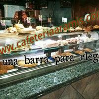 Foto tomada en Cafetería Aramis por MIGUEL el 3/14/2014