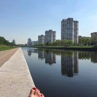 Photo taken at остановка Новосмоленская набережная by Tatiana R. on 5/15/2018