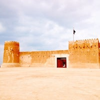 Photo taken at Al-Zubara Castle by Salman on 1/10/2014