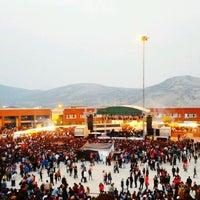 Photo taken at 19 Mayıs Amfisi by H. Fidan A. on 5/17/2013