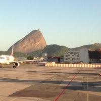 Photo taken at Rio de Janeiro Santos Dumont Airport (SDU) by Murilo S. on 7/4/2013