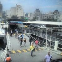 Photo taken at CCR Barcas - Estação Araribóia by @desativando on 10/15/2013