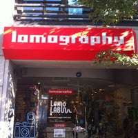 Photo taken at 로모그래피 갤러리 스토어 by havaqquq y. on 11/1/2012
