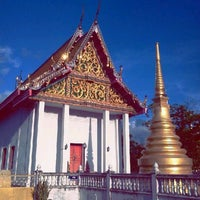 Photo taken at วัดไผ่ล้อม by krishana w. on 10/9/2012