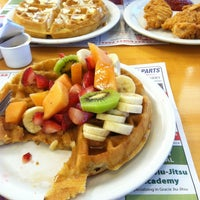 Photo taken at Vic's Waffle House by Megan M. on 5/2/2013