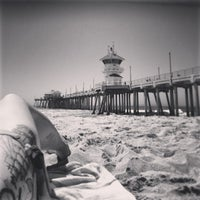 Photo taken at Southside HB Pier by Whitney B. on 4/10/2013
