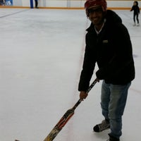 Photo taken at West End Ice Rink by Ziyad A. on 11/6/2014