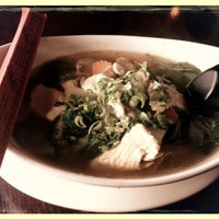 Photo taken at Thai Chef and Noodle Fusion by Carla G. on 4/22/2013
