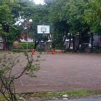 Photo taken at Lapangan Basket RW.01 by Ari Muharam M. on 2/16/2014