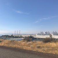 Photo taken at The Dalles Dam by Roy v. on 9/11/2017