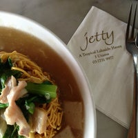 Photo taken at Jetty Restaurant by Sarah B. on 2/19/2013