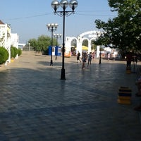 Photo taken at Central Beach by Випорте А. on 7/13/2013