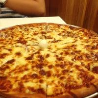 Photo taken at Steveston Pizza by Akiko H. on 3/29/2013