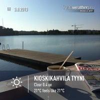 รูปภาพถ่ายที่ Kioskikahvila Tyyni โดย Cavediving.fi เมื่อ 8/3/2013